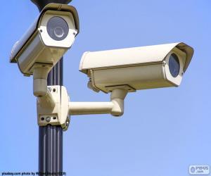 Puzle Bezpečnostní kamery