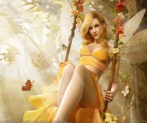 Puzle Blonde víla