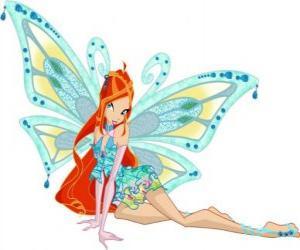 Puzle Bloom, princezna z planety Domino