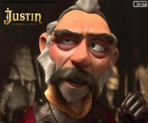 Puzle Blucher, starý rytíř