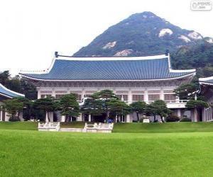 Puzle Blue House, Soul, Jižní Korea