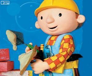 Puzle Bořek stavitel pracovní