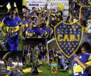 Puzle Boca Juniors, mistr turnaje Apertura 2011, Argentina