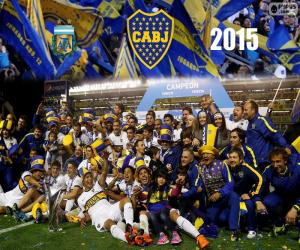 Puzle Boca, vítěz 1. divize 2015