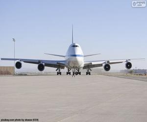 Puzle Boeing 747SP