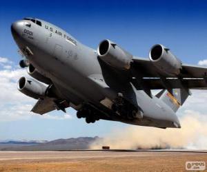 Puzle Boeing C 17 Globemaster III vojenský transportní letoun