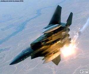 Puzle Bojová letadla