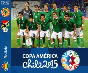 Puzle Bolívie Copa America 2015
