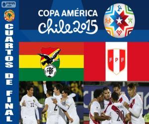 Puzle BOL - PER, Copa America 2015