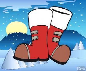 Puzle Boty Santa Claus