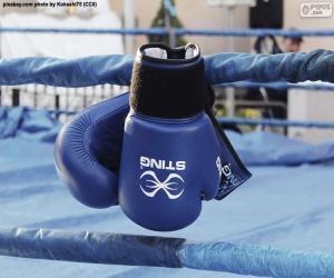 Puzle Boxerské rukavice