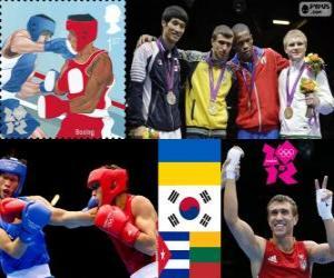 Puzle Boxu - 60kg mužské Londýn 2012