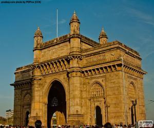 Puzle Brána Indie, Bombaj