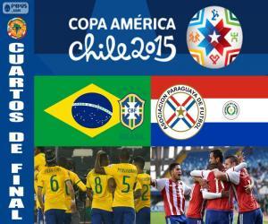 Puzle BRA - PAR, Copa America 2015