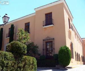 Puzle Bracamonte Palace, Avila, Španělsko