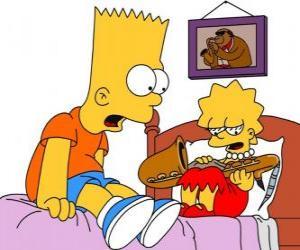Puzle Brat překvapeni, Lisa s nástrojem