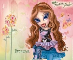 """Puzle Breeana je plachý a osamělý, se nazývá """"Haditha do módy"""" ona a její rodina jsou víly"""