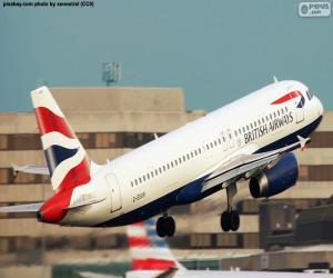 Puzle British Airways, Velká Británie