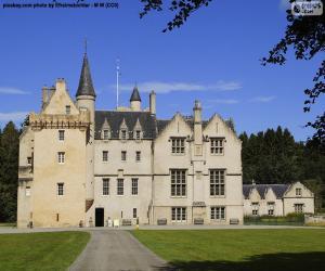 Puzle Brodie hrad, Skotsko