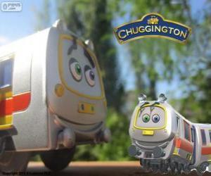 Puzle Brousek, rychlým vlakem z Chuggington