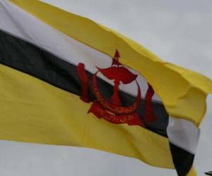 Puzle Brunejská vlajka