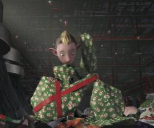 Puzle Bryony, elf z praporu Dárková balení