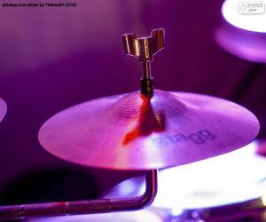 Puzle Bubnový činel
