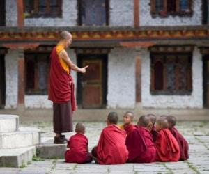 Puzle Buddhistický učitel