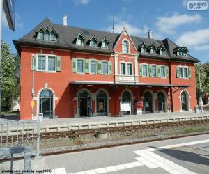 Puzle Budova nádraží