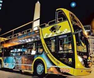 Puzle Buenos Aires Turistické Bus