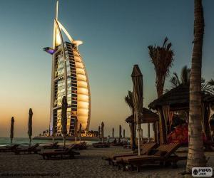 Puzle Burj Al Arab Jumeirah, Dubaj