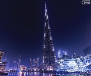 Puzle Burj Khalifa, Dubaj