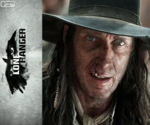 Puzle Butch Cavendish (William Fitchner) ve filmu Osamelý jezdec