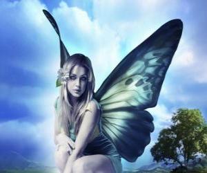 Puzle Butterfly víla