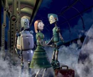 Puzle Byliny Copperbottom a jeho manželka Lydia