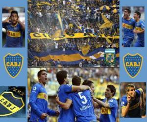 Puzle CA Boca Juniors