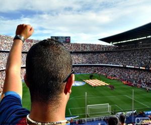Puzle Camp Nou, Barcelona