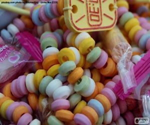Puzle Candy náhrdelník