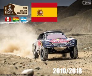 Puzle Carlos Sainz Dakar 2018