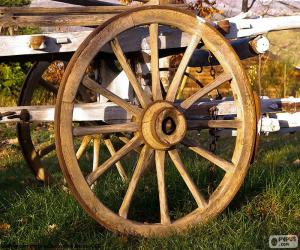 Puzle Cart wheel