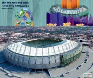 Puzle Castelao Stadium (60 000), pevnost
