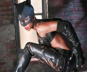 Puzle Catwoman, klenot zloděj a Batman soupeř, pro které cítí silnou romantickou přitažlivost