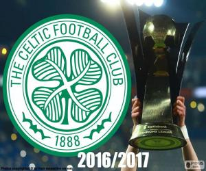 Puzle Celtic FC šampion 2016-2017