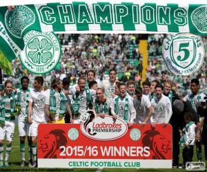 Puzle Celtic FC mistr 2015-2016