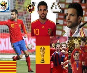 Puzle Cesc Fabregas (Barcelona je budoucnost), španělského národního týmu záložník
