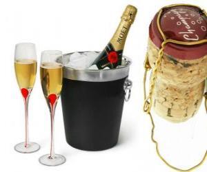 Puzle Champagne je druh šumivého vína vyrobeného metodou champenoise v oblasti Champagne ve Francii.