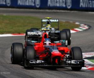 Puzle Charles Pic, Marussia 2012