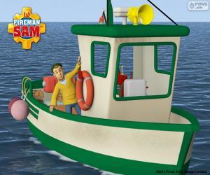 Puzle Charlie Jones rybářský člun