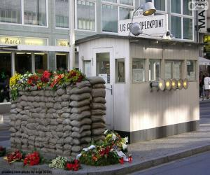 Puzle Checkpoint Charlie, Berlín