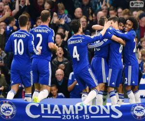 Puzle Chelsea FC mistr 2014-15